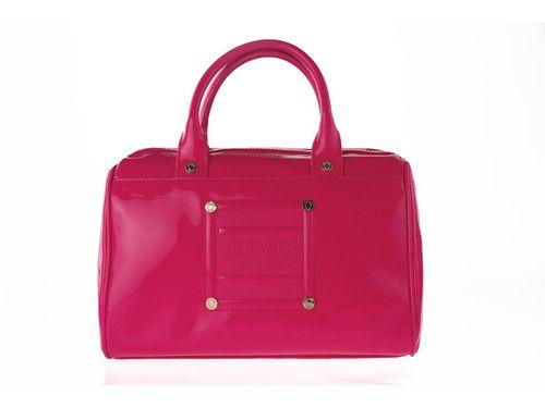 Handtasche VERSACE Jeans Tasche Damentasche grün pink gelb | eBay