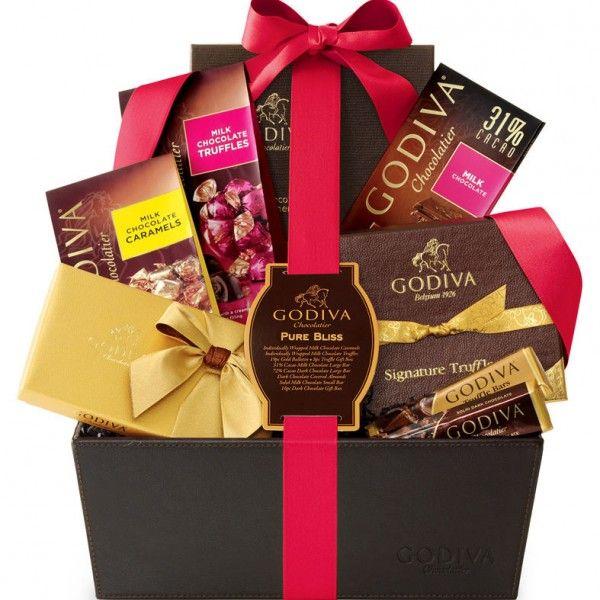 Godiva® Valentine Bliss Gift Basket