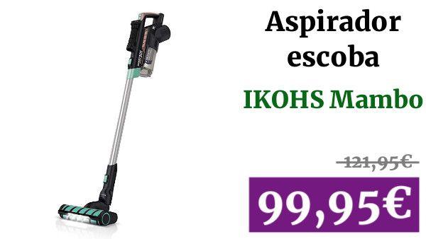 Ikohs Mambo Vg301 Aspiradora Vertical Sin Cable 3 En 1