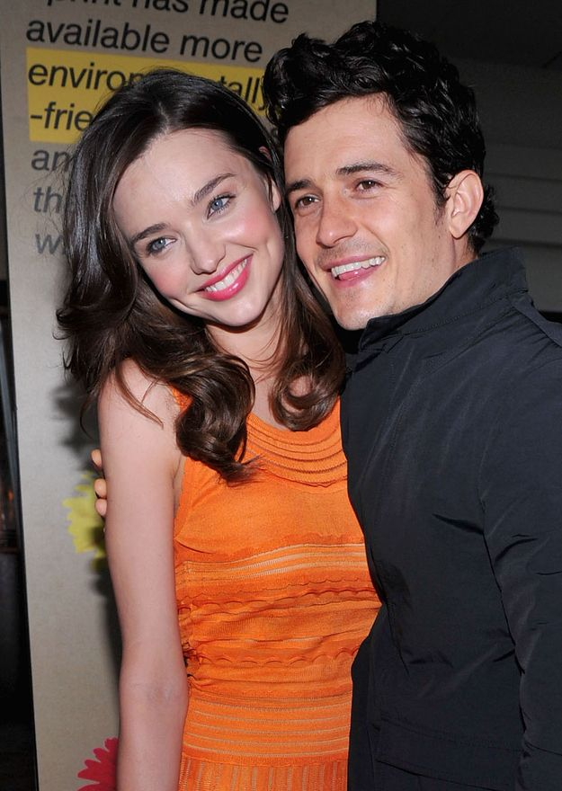 She loved him. | 25 Photos Of Miranda Kerr And Orlando Bloom That Will Make You Sad They've Broken Up