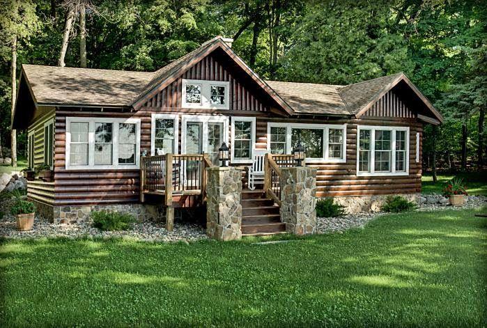 Интерьер деревянного дома в картинках.