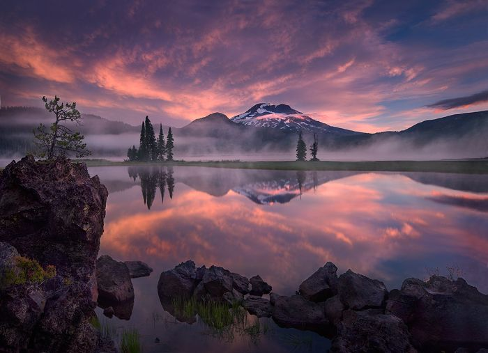 serenity.Marc Adamus, Sunsets, Beautiful, Sunris, Lakes, Landscape Photography, Central Oregon, Nature Photography, Landscapes Photography