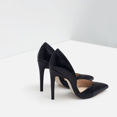 HIGH HEEL D'ORSAY SHOES from Zara (39.95 EUR)