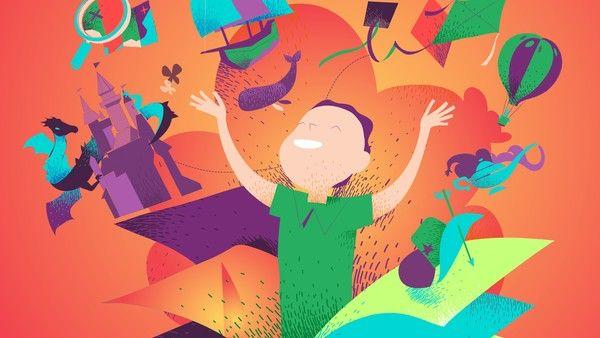 """Como dice el refrán, """"un niño que lee será un adulto que piensa"""". Un compilado de ideas y sugerencias para sumar cuentos infantiles e historias a tu vida. Lisa Simpson, Pikachu, Fictional Characters, Kids Reading, Being An Adult, Gender Stereotypes, Fantasy Characters"""