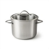 Found it at Wayfair - Contemporary Stainless Steel 12 Quart Stockpot with Lid