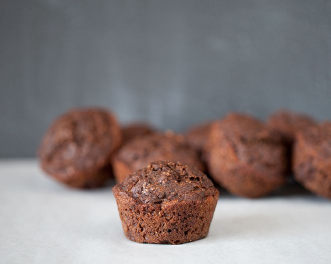 Fudgy Chocolate Banana Flax Muffins | Baking Recipes To Try (healthy ...