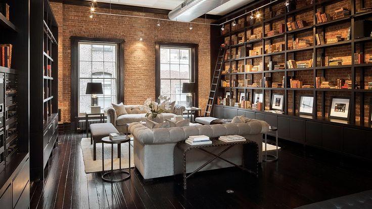 un loft tribeca visite deco places loft de luxe. Black Bedroom Furniture Sets. Home Design Ideas