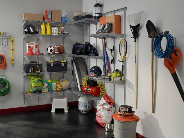 Maximize Every Inch Of Space In Your Garage By Getting Tools And Supplies Up