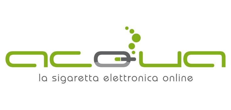 Logo vincitore del concorso di grafica  Acqua - la sigaretta elettronica on line