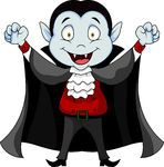 Vampire cartoon -