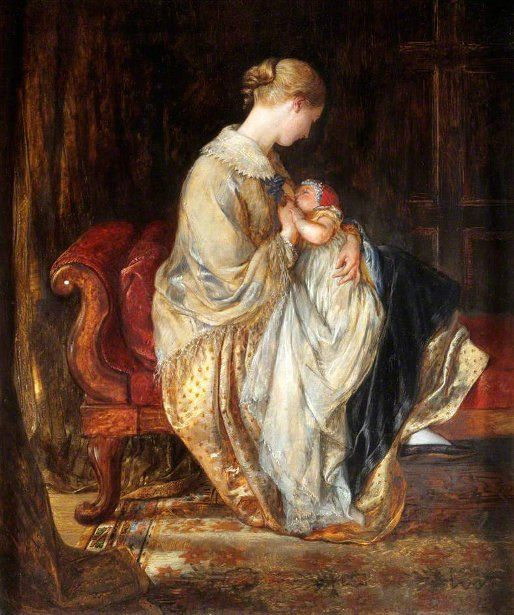 Charles West Cope - The Young Mother