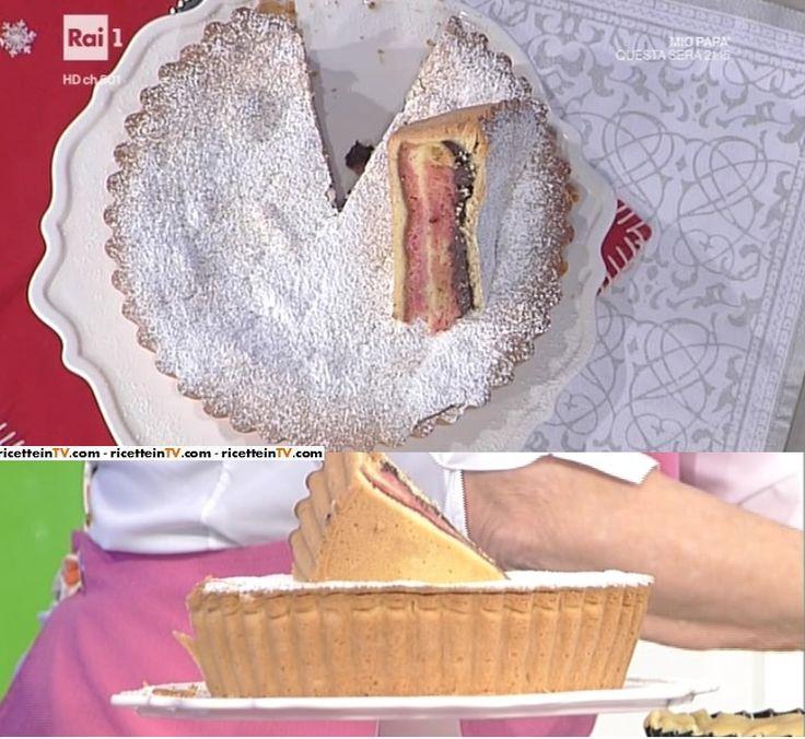 """La ricetta della zuppa inglese in torta di Anna Moroni del 29 novembre 2016, a """"La prova del cuoco""""."""