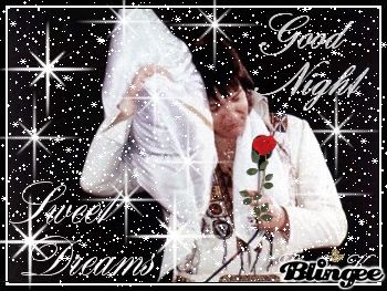 Photo of Good Night Elvis for fans of Elvis Presley. Animated,Tribute to Elvis