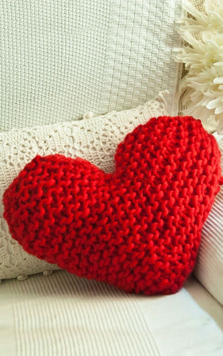106 best strick wohnklamotte images on pinterest accessories happy cushion in we are knitters the wool knitting kit knit in red or green for christmas or match your own decor for all year round knitted pattern bankloansurffo Gallery