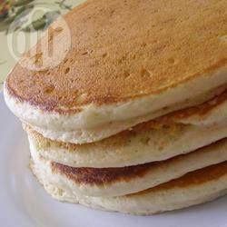 Panqueques esponjosos estilo americano @ allrecipes.com.ar