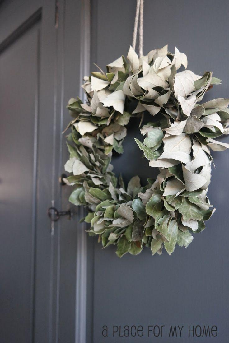 Wreath | www.aplaceformyhome.blogspot.nl