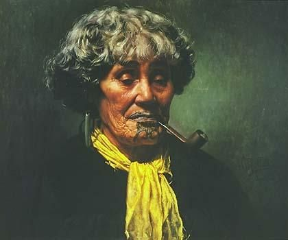 Ena Te Papatahi - Charles Goldie