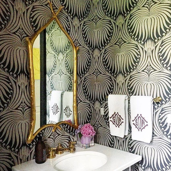 Best The Powder Room Images On Pinterest Powder Rooms - Personalized bath towels for small bathroom ideas