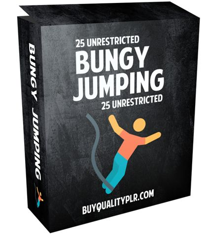 25 Unrestricted Bungy Jumping PLR Articles Pack - http://www.buyqualityplr.com/plr-store/25-unrestricted-bungy-jumping-plr-articles-pack/.  #bungyjumping #typesofbungyjumping #modernbungyjumping #bungyjumpingtrip #bungyjumpingaccidents #bungyjumpingequipment 25 Unrestricted Bungy Jumping PLR Articles Pack In this PLR Content Pack You'll get 25 Unrestricted Bungy Jumping PLR Articles Pack with Private Label Rights to help you d....