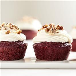 Red Velvet Brownie Cupcakes