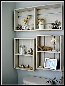 Hometalk :: Coastal Decor :: Kim Sand & Sisal's clipboard on Hometalk , basement bathroom Coastal Decorating