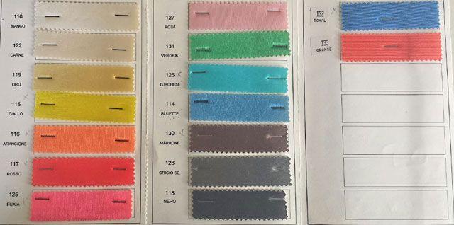 #Tessuto spugnetta tinta unita in colori sgargianti! ideale per confezionare abiti per #carnevale strutturati e per addobbare le sale per le #feste
