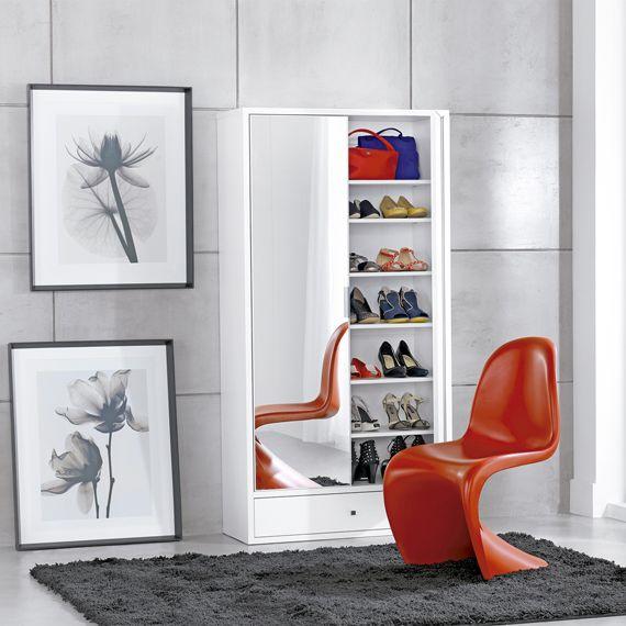 +1000 ideias sobre Sapateira Tok Stok no Pinterest  Sapateiras Modernas, Tok -> Armario De Banheiro Com Espelho Tok Stok