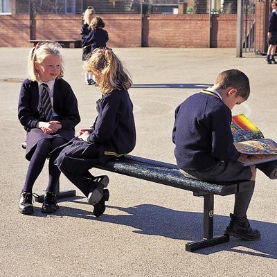 Junior Countryside™ Bench is designed for children, with a reduced seat height it is easier to reach for kids and is ideal for schools, playgrounds and nurseries. #ChildrensSeat #Seat #RecycledMaterial #GlasdonUK