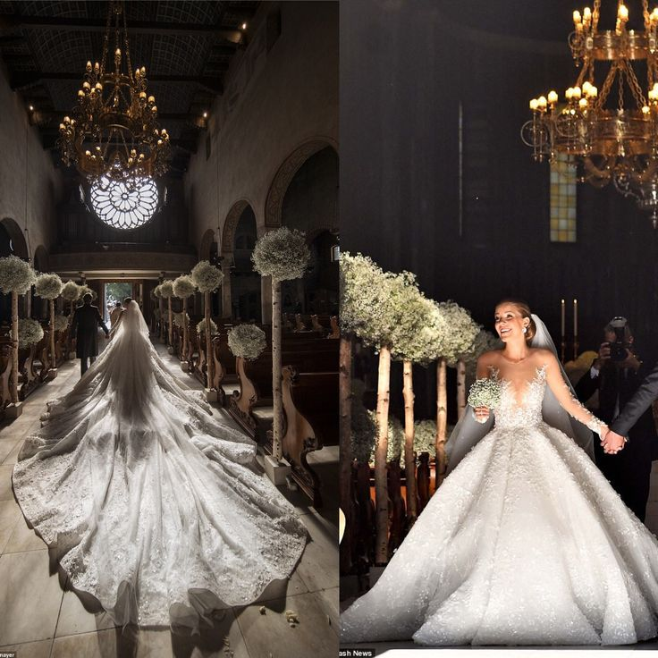 Gemstone heiress Victoria Swarovski wedding dress iadorned with 500,000 Swarovski crystals as she marries property mogul in lavish Italian wedding. Now that is living the brand and keeping it in the family with style! . Inspired? Check out Swarovski at LuxSeeker.com.