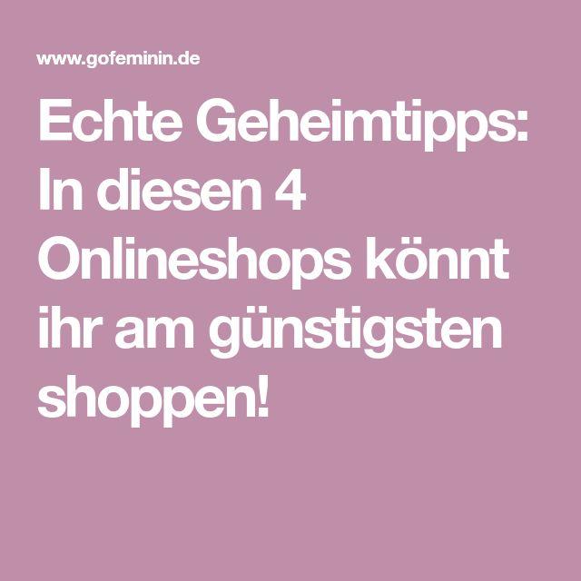 Echte Geheimtipps: In diesen 4 Onlineshops könnt ihr am günstigsten shoppen!