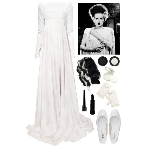 Bride of Frankenstein costume