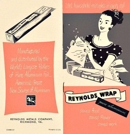 Reynolds Wrap Booklet, 1947