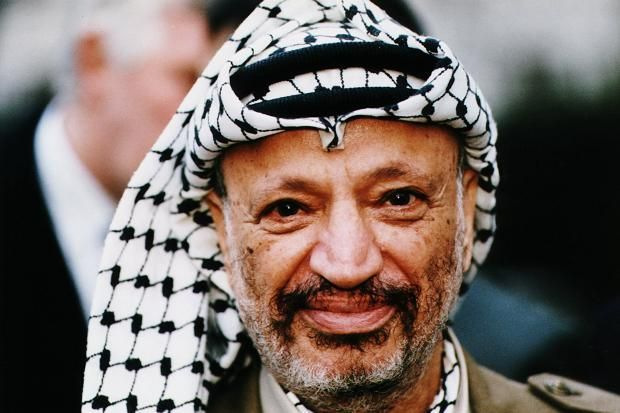 August 24, 1929 - Yasser Arafat the Chairman of the Palestine Liberation Organization (PLO) is born in Cairo.