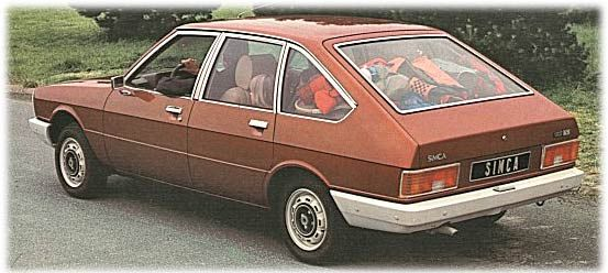 Simca 1307  1979