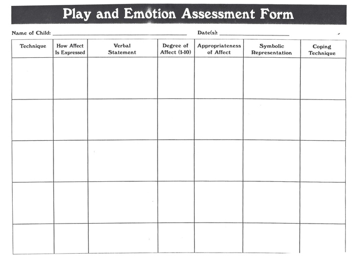 Best Children Assessment Worksheets Images On