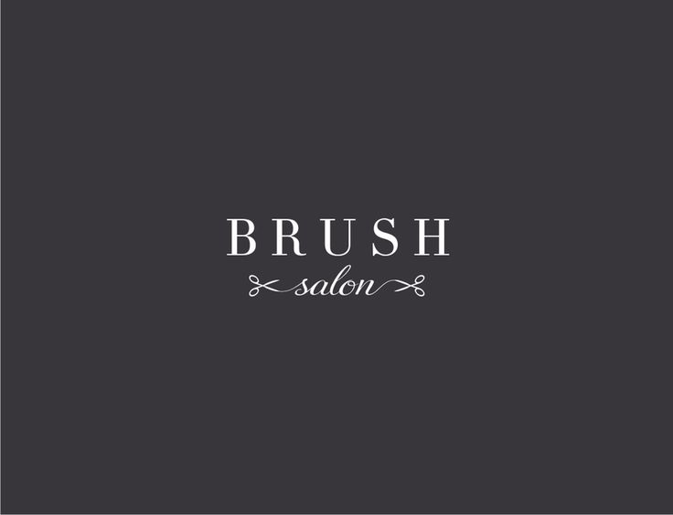 Design a modern and classy hair salon logo for Brush Salon by y.o.p.i.e