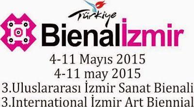"""""""sanat mercek altında"""": 3. Uluslararası İzmir Sanat Bienali  3. Uluslarara..."""