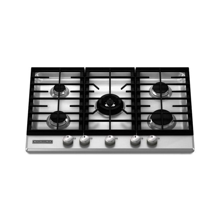 KitchenAid Architect Series II : 30 Gas Cooktop With 5 Sealed Burners    Stainless Steel