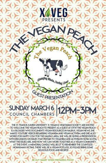 The Vegan Peach at StFX