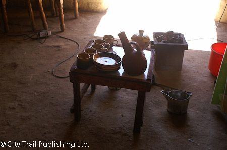 Traditional Sudanese coffee in Kassala