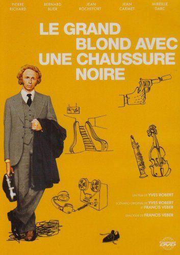 Le Grand blond avec une chaussure noire DVD ~ Pierre Richard