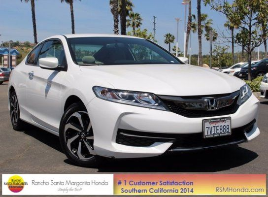Coupe, 2016 Honda Accord LX-S Coupe with 2 Door in Rancho Santa Margarita, CA (92688)
