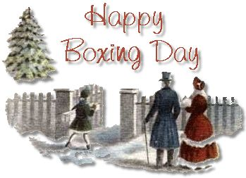 12/26/2012 Boxing Day: It's a holiday with presents that have already been opened and a dinner that has been eaten. It's a holiday best spent lounging around in brightly colored sweaters, wondering, lazily and lethargically, what to do next. click to learn more,