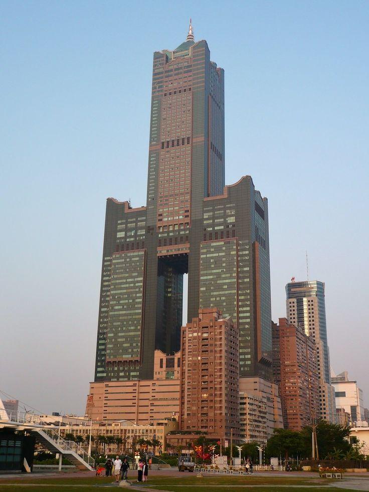 24. Tuntex Sky Tower in Kaohsiung, Taiwan 1240 ft