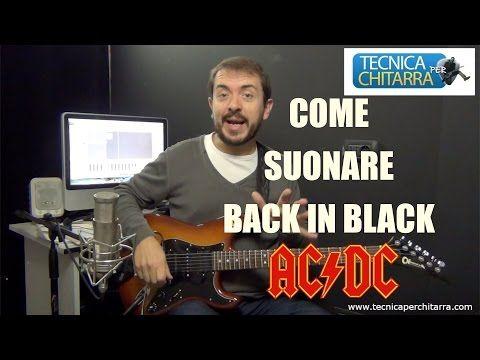 Lezioni di chitarra: come suonare Back in Black | Tecnicaperchitarra.com