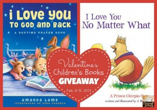 Valentine's Children's Books Giveaway! 2 Fantastic Bedtime stories your children will  LOVE! // cheeriosandlattes.com