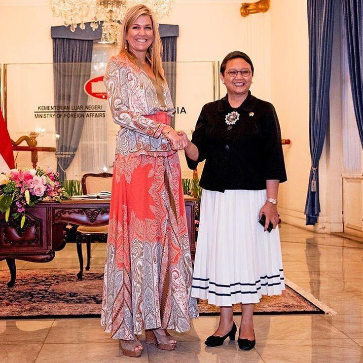 30-08-2016 Koningin Maxima in Indonesië voor de Verenigde Naties voor Inclusieve…