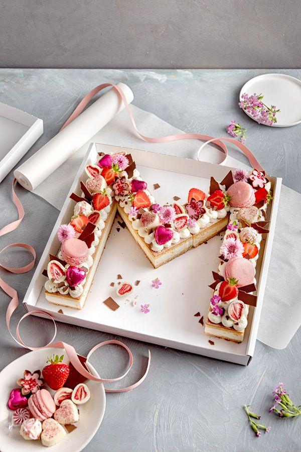 letter cake – einfach hübsch und voll im trend  hübsche