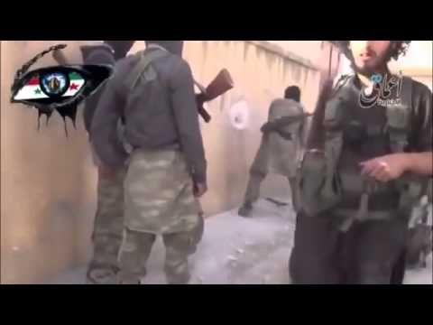 War in IRAQ & Syria 2014 Battle into town Kobani (Ain al-Arab)