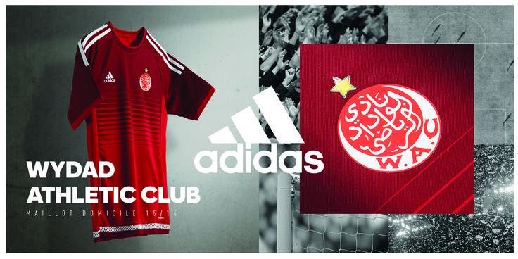 Wydad Athletic Club | home jersey | 2015-16